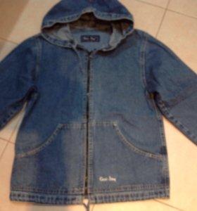 Джинсовая куртка рост147