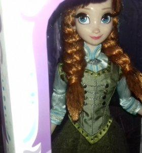 Новая коллекционная кукла Анна frozen Дисней