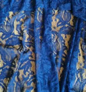 Новое платье гипюр 42