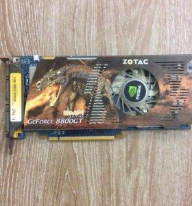 Видеокарта GeForce 8800GT 512Mb DDR3