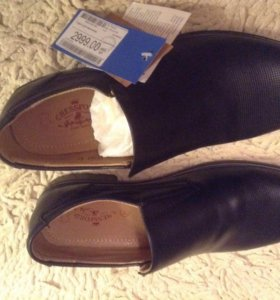 Туфли новые кожаные 40-41