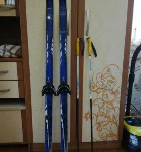 Детские лыжи на 130