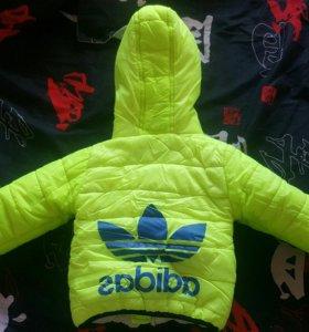 Куртка весна-осень синтепон 80-85размер