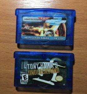 NFS и Tony Hawk GameBoy Advance