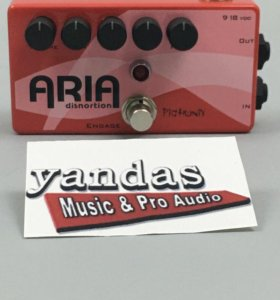 Pigtronix XES Aria Distortion эффект гитарный овер