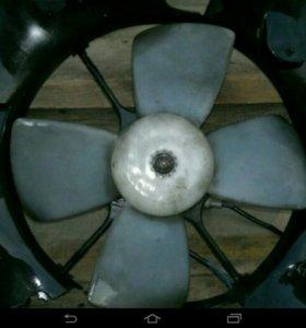 Вентилятор радиатора ДВС 4S