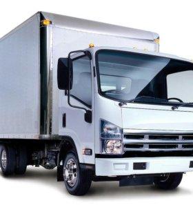 Грузоперевозки до 3 тонн ,фургон 17 кубов.