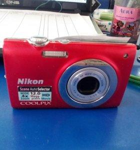 Nikon s2550