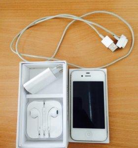 iPhone 4s white 8gb
