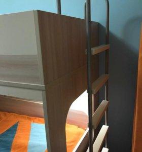 Кровать-чердак(2этаж)(производитель Мебель Москва)