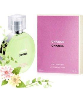 Chanel Chance Eau Fraiche.