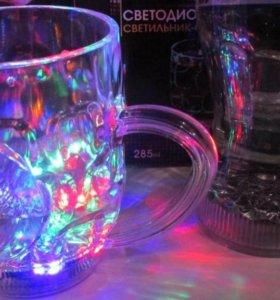 Светодиодный светильники стаканы