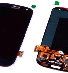 Дисплей для Samsung i9100 + тач