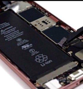 Аккумулятор Айфон 4/4s/5/5c/5s/6/6+/6s/7/7+