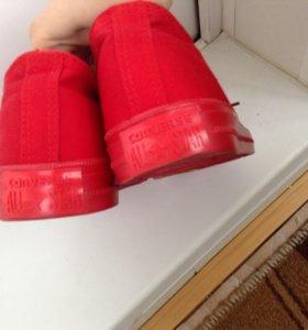 Кеды Converse (red)