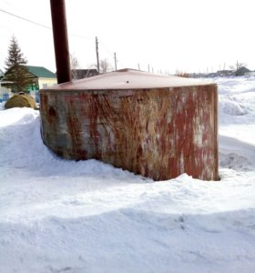 Ёмкость под канализацию 11.7 кубов