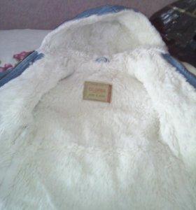 Джинсовая куртка на весну