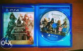Игра на ps4, assasin creed unity