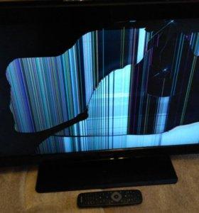 Телевизор LED32 Philips 32PFL3017H. На запчасти