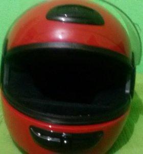 Шлем картинговый детский на 5-10 лет новый