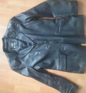 Кожаный пиджак натуральная кожа лайка очень мягкий