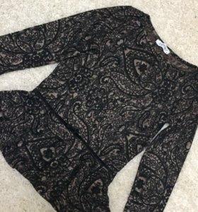Трикотажная кофточка блуза