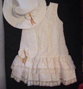 Новое платье + шляпка