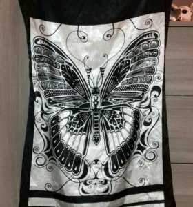 Платье (черно-белое)