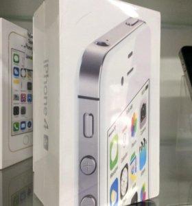 Apple iPhone 4S 16gb White новый запечатаный