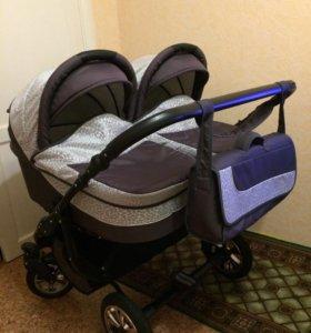 Продадим коляску Slaro Sofia Duo 2в1 для двойни