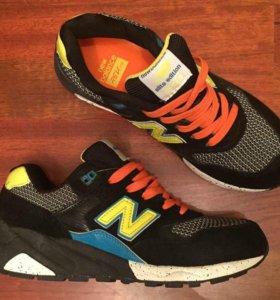 Качественные модные кроссовки New Balance 580