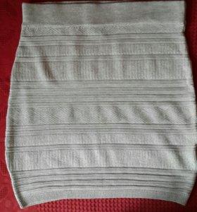 Трикотажная юбка 42-44