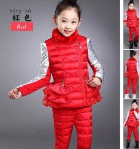 Комплект куртка, брюки, кофта весна-осень
