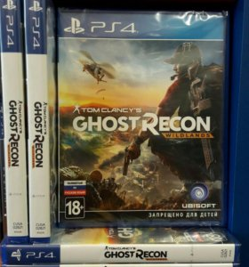 Tom Clancy's Ghoust Recon Wildlands Sony PS4