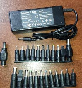 Уневирсальное зарядное устройство для ноутбуков.