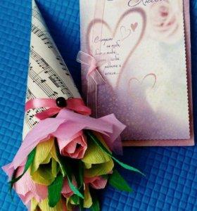 Букет из конфет / сладкий подарок /цветы
