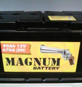 Аккумулятор Magnum 90 пп, оп