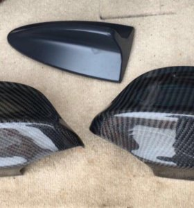 Карбоновые накладки на зеркала BMW E90, E92