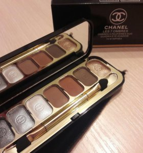 Тени для век Chanel Les 7 Ombres Quadra Eye Shadow