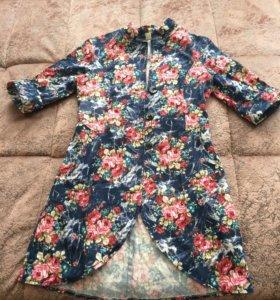 Удлинённый пиджачок - или рубашка