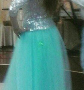 Вечерное платье юбка и кофта