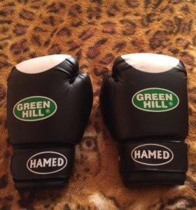 Перчатки боксёрские (Green Hill)12.oz