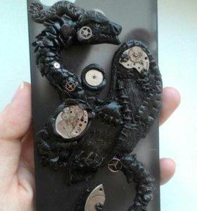 Чехол для IPhone 5/5s в стиле стимпанк