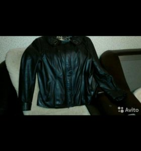 Кожаная куртка capitol
