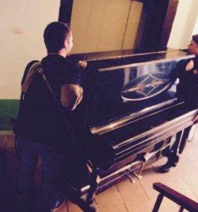 Перевозка пианино газель,грузчики