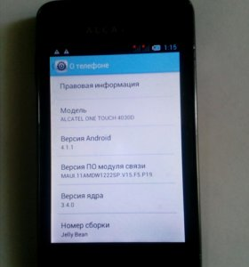 Alcatel one touch 4030D
