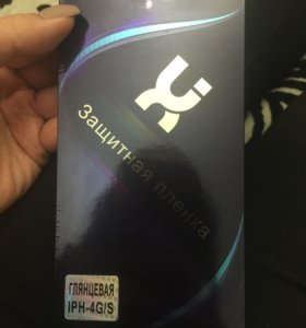 Защитная плёнка для айфон 4g-s