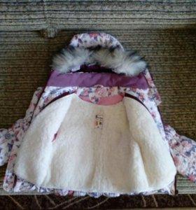 Куртка для девочки(зима).