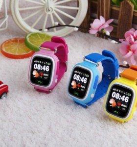 Детские умные часы с GPS трекером модель Q90 wi-fi