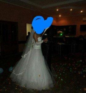 Свадебное плать